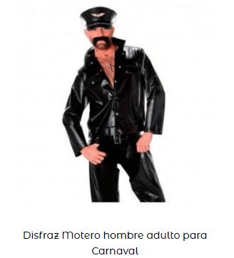 disfraz sons of anarchy motero