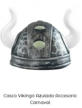 disfraz vikings casco