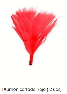 plumas cosquillas día de san valentín