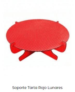día de san Valentín soporte rojo mesa decoración