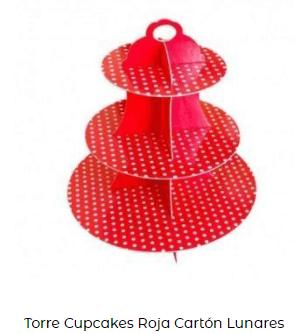 día de san Valentín torre rojo mesa decoración