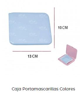 caja funda plástico producto de higiene covid