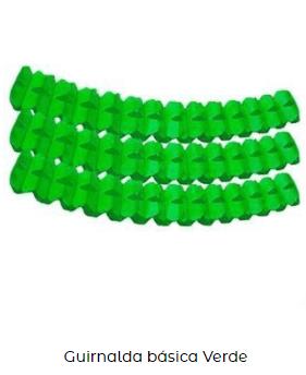 guirnalda decoración san patricio verde