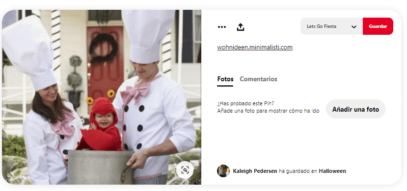 disfraces cocinero semana santa en casa