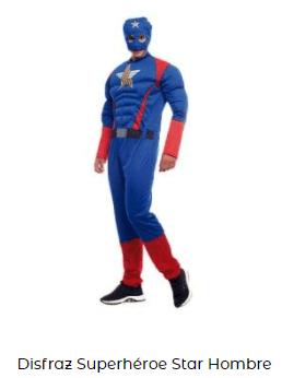 disfraces padres e hijos capitán américa