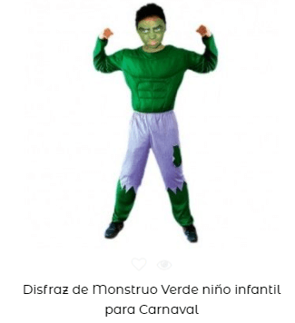 disfraces padres e hijos hulk