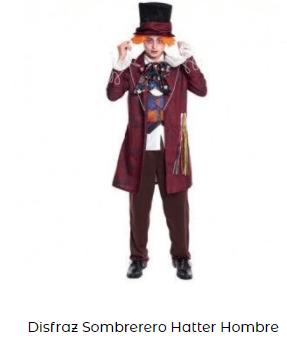 disfraces padres e hijos sombrerero alicia