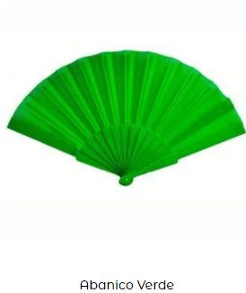 accesorio fiesta san patricio abanico verde