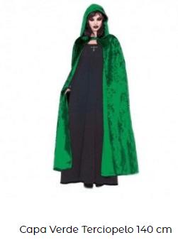 disfraces san patricio capa verde