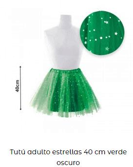 disfraces san patricio falda mujer verde