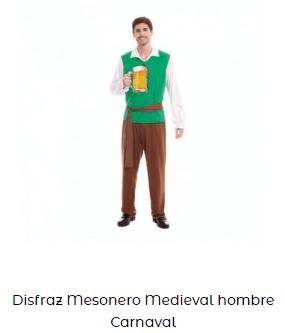 disfraces san patricio hombre adulto
