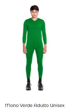 disfraces san patricio mono adultoverde
