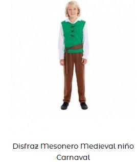 disfraces san patricio niño