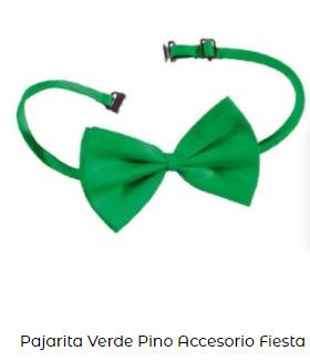 pajarita verde celebración día san patricio