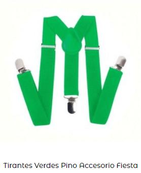 duende san patricio tirantes verdes