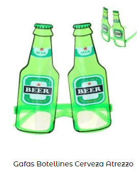 gafas san patricio accesorios cervezas