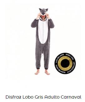 teatro en casa para niños caperucita roja lobo disfraz adulto