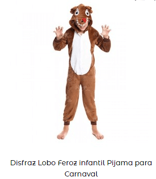 teatro en casa para niños caperucita roja lobo disfraz infantil