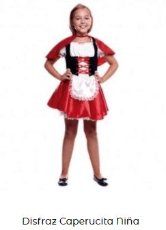 teatro en casa para niños caperucita roja niña disfraz