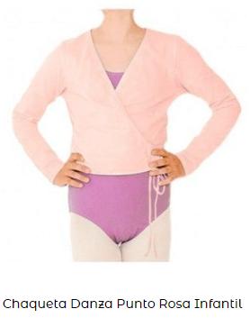 chaqueta danza ballet niña infantil