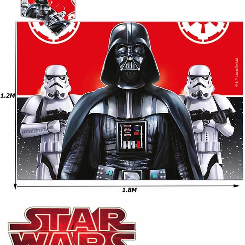 decoración star wars mantel