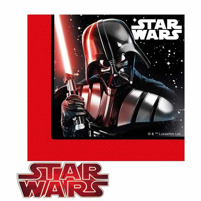 decoración star wars servilletas
