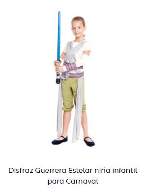 disfraces de star wars jedi joven
