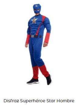 disfraz capitán américa avengers