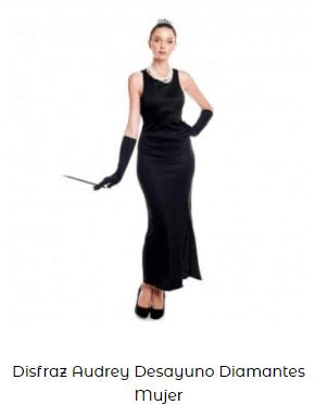 disfraces premio oscar actriz Hollywood Audrey Hepburn