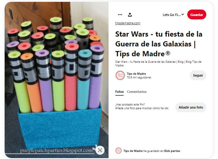 espadas laser accesorios star wars caseros