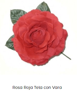 ropa flamenca baile accesorios flor pelo