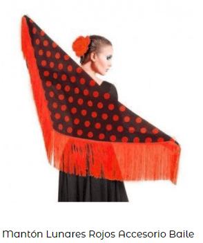 ropa flamenca baile mantón