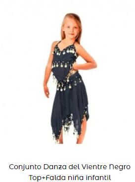 ropa para baile danza vientre niña