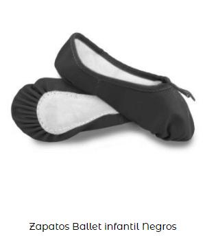 puntas zapatillas danza ballet niña infantil