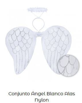 alas de ángel decoración bautizo