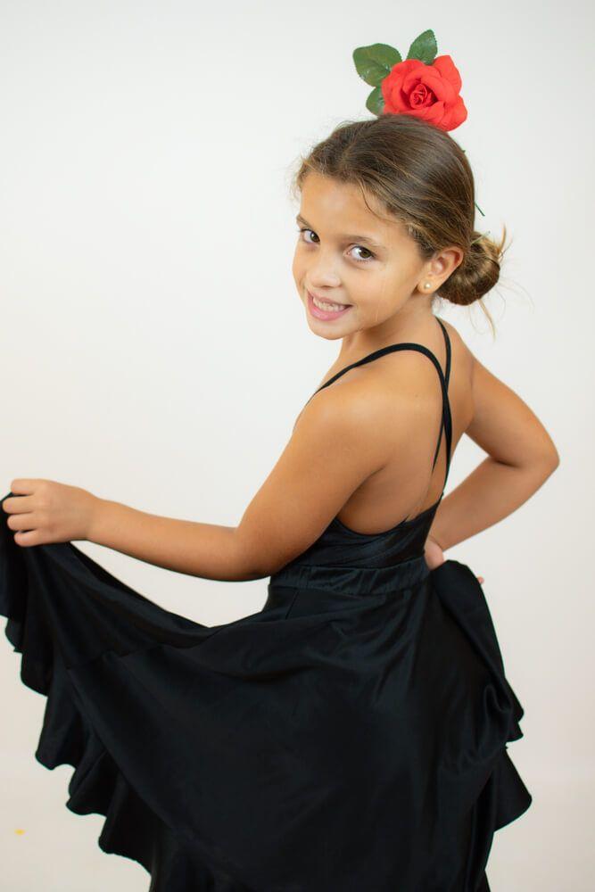 cómo vestirse de flamenca niña