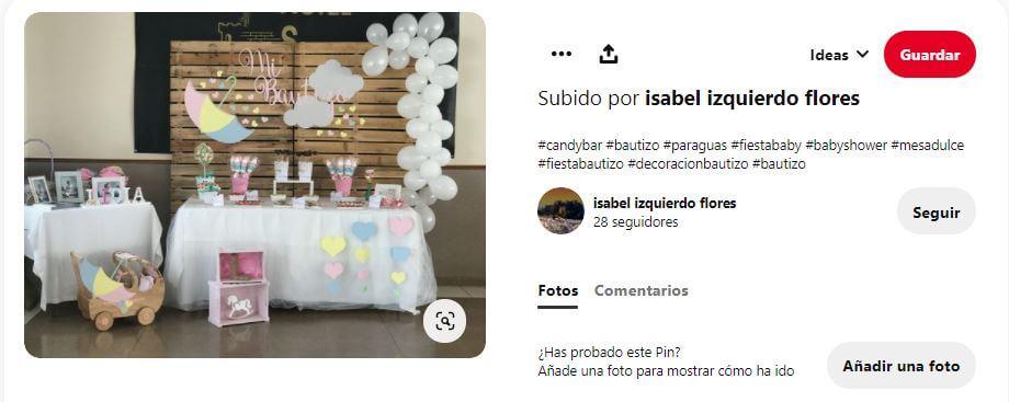 decoraciones para bautizos sencillos en casa con globos