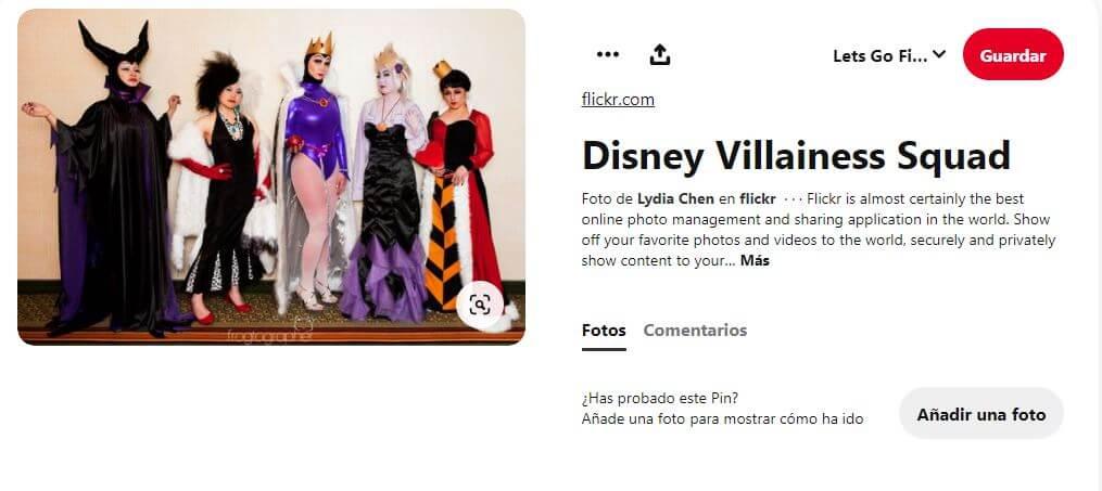 día del orgullo friki disfraces villanas Disney
