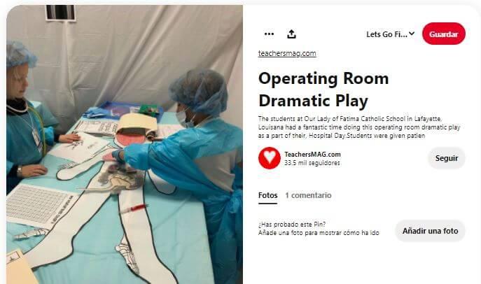 quirófano juego operación enfermeros médicos