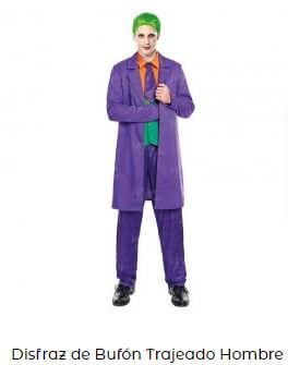 disfraz barato orgullo friki joker