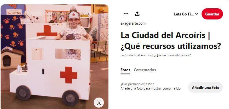 disfraz ambulancia niños