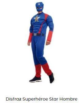 disfraz capitán américa disfraces friki