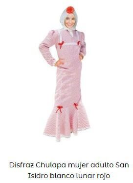 disfraz chulapa mujer