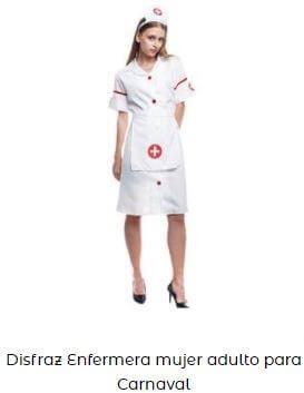 disfraz de enfermera mujer adulta