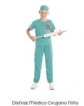 disfraz de enfermero niño