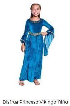 disfraz princesa Disney Brave