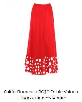 falda flamenca ideas de vestirse lunares