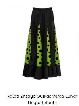 falda flamenca ideas de vestirse con quillas