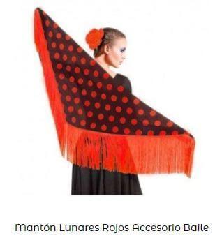 mantoncillo de flamenca mantón mmantoncillo de flamenca mantón manila lunares rojoanila lunares