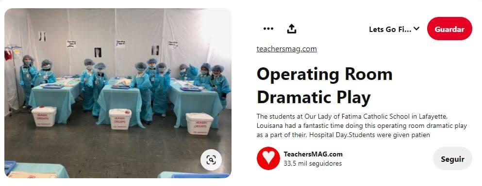 operación médicos enfermeros niños